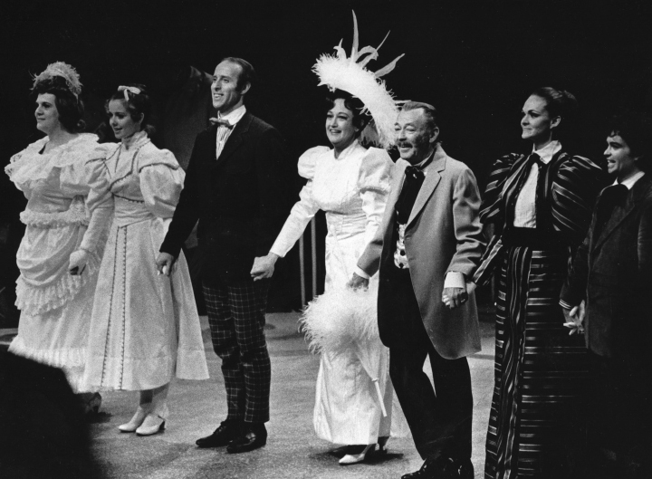 The Cast of HELLO, DOLLY! (1971) at Melody Top.