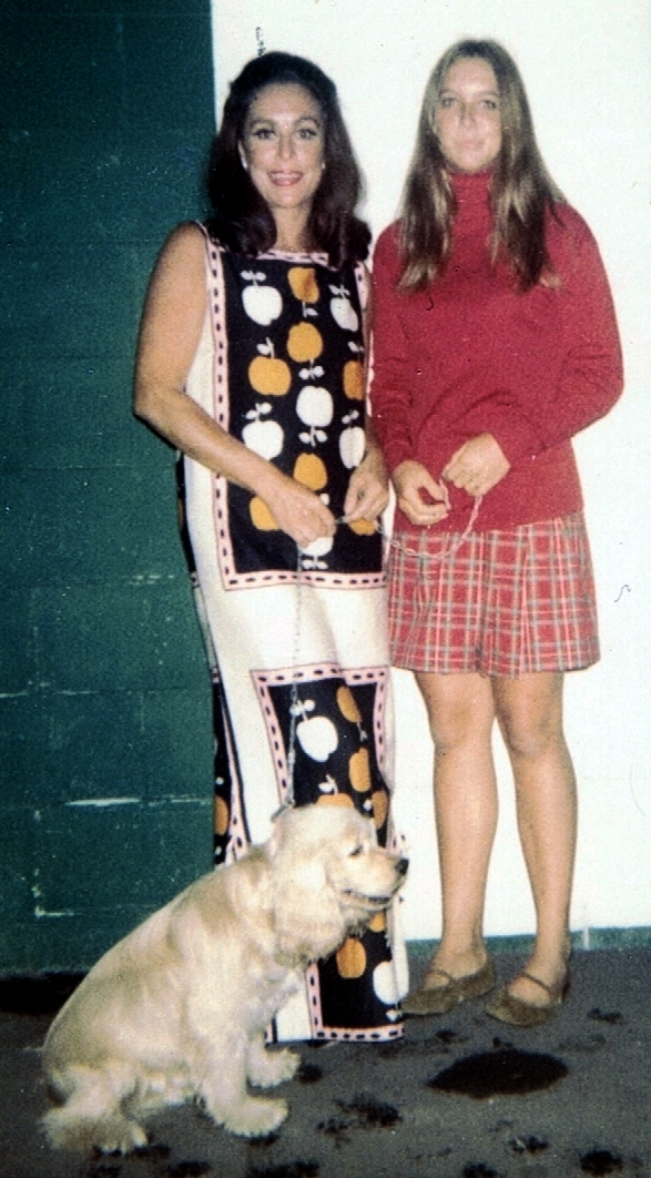 Patrice Munsel, Daughter Heidi and Dog Worry.