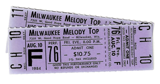 Melody Top Tickets